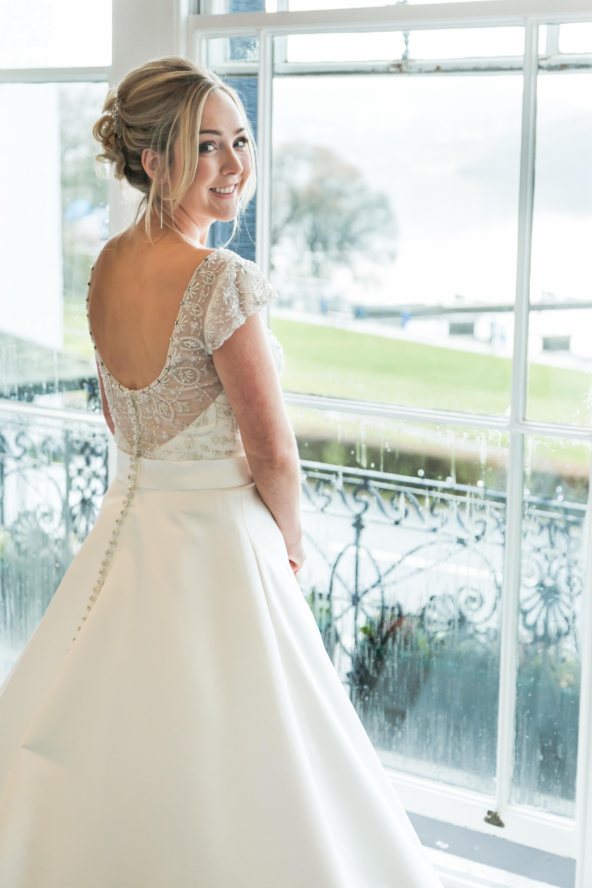 Ellies Beautiful Wedding at Low Wood Bay - Katie Dale - Wedding Hair ...