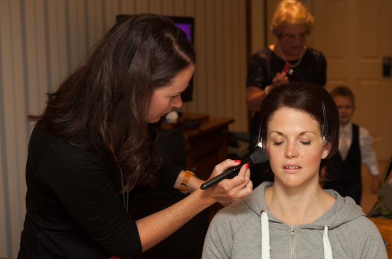 Classic and Elegant Bridal Hair and Make up at The Lakeside Hotel, Windermere