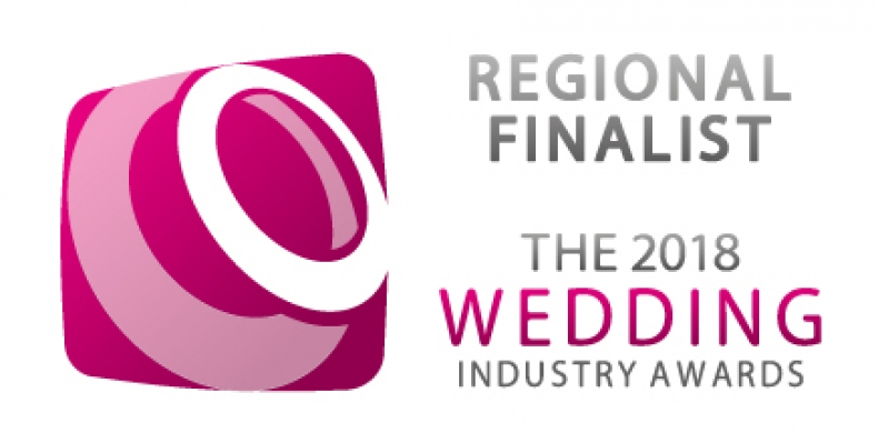 Wedding Industry Awards 2018 - Regional Finalist