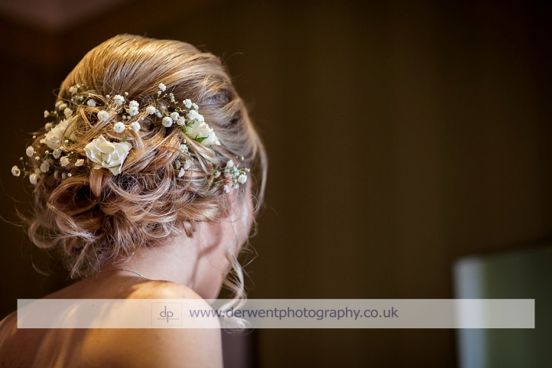 Country Glam Hair and Make up for Kirsty's Wedding at Netherwood Hotel